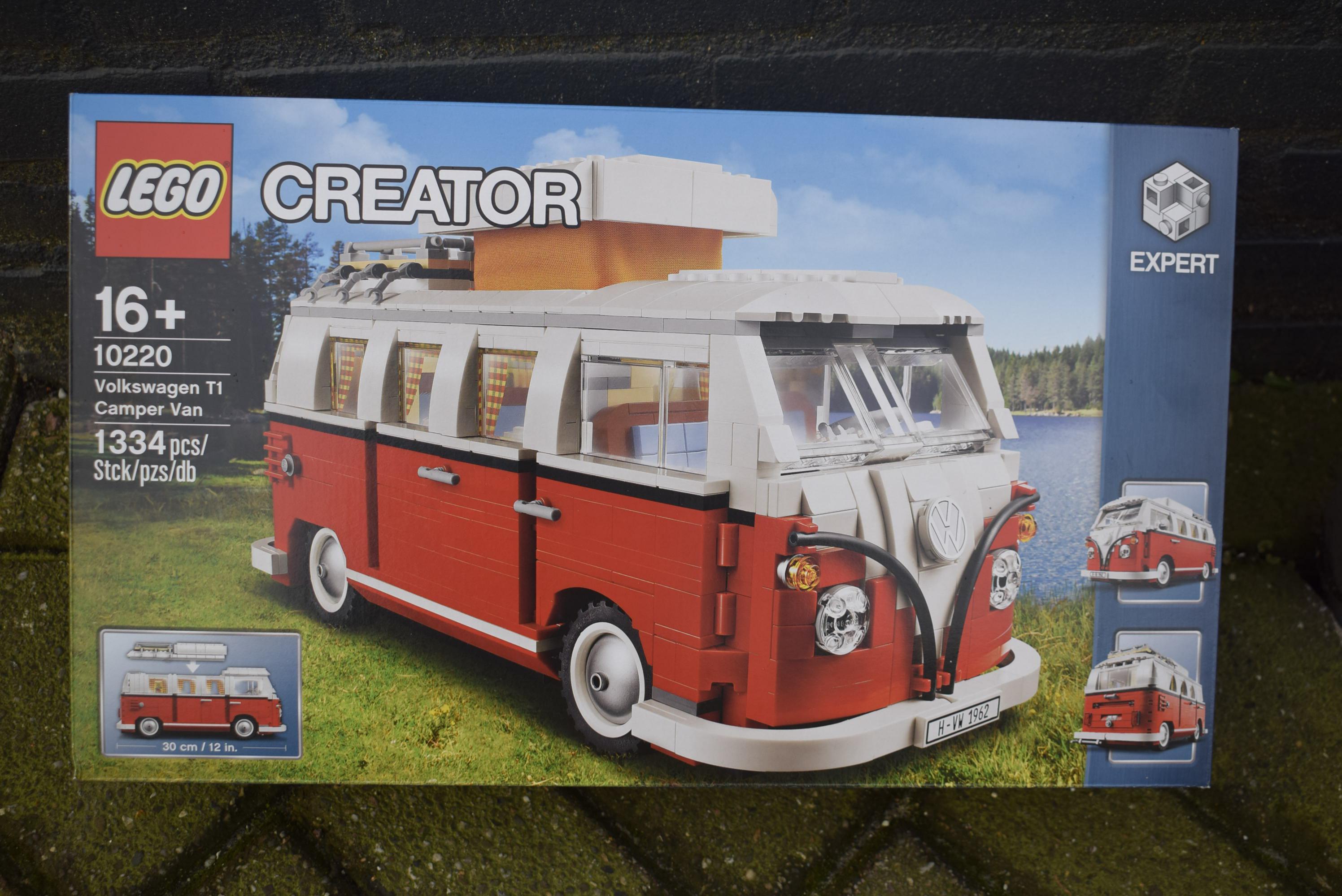 evam classic lego volkswagen bus creator 1334 pieces. Black Bedroom Furniture Sets. Home Design Ideas